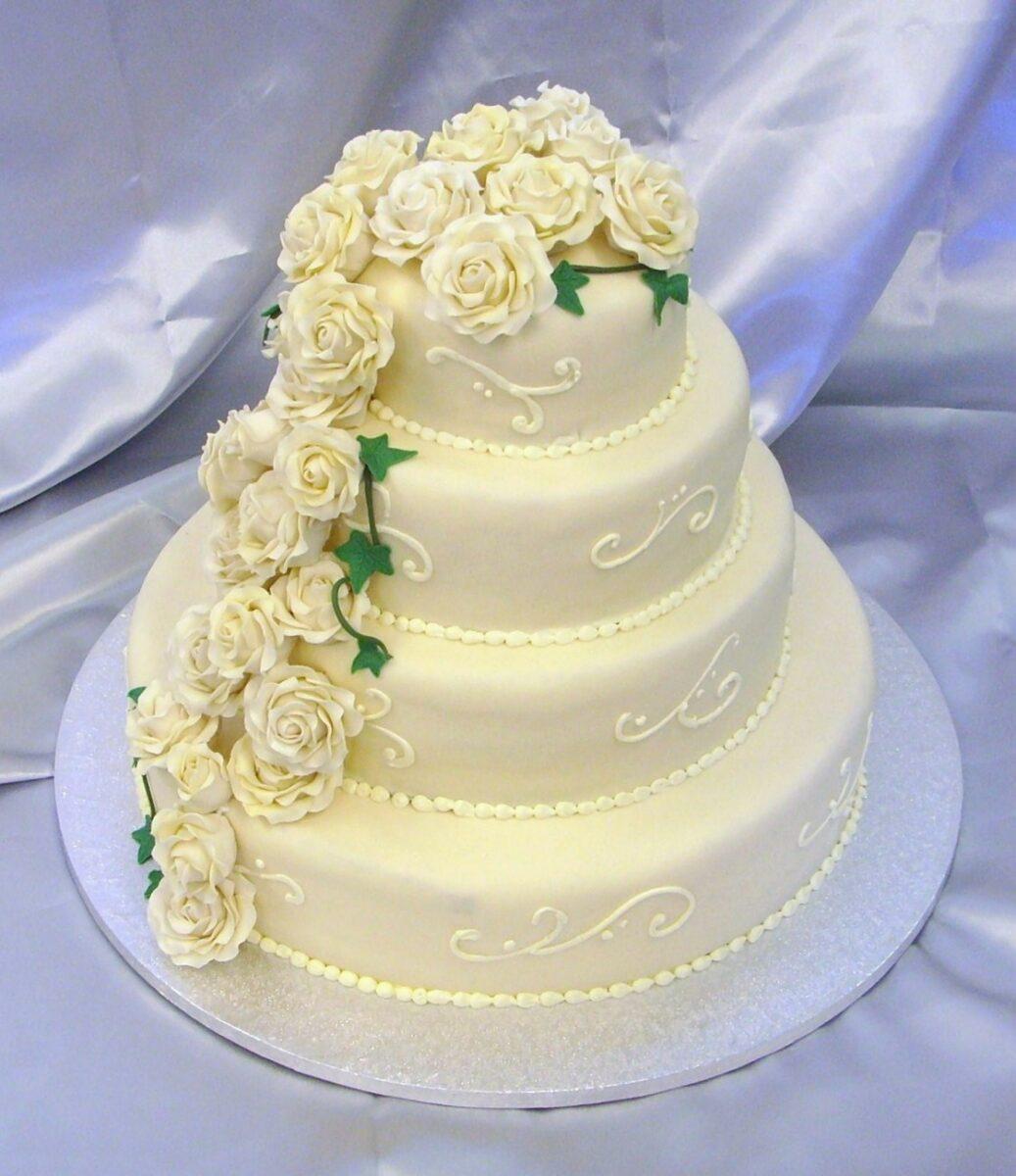 bröllopstårta lysekil tårtmakare Björsells konditori