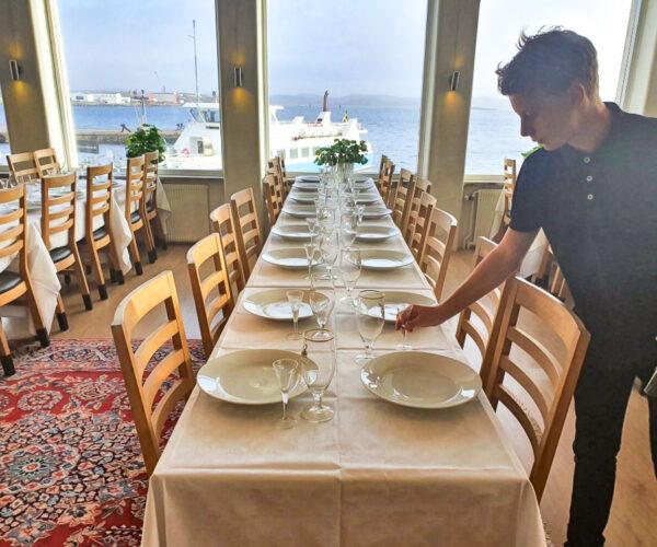 Bröllop Fest Lysekil Matsal Hotell