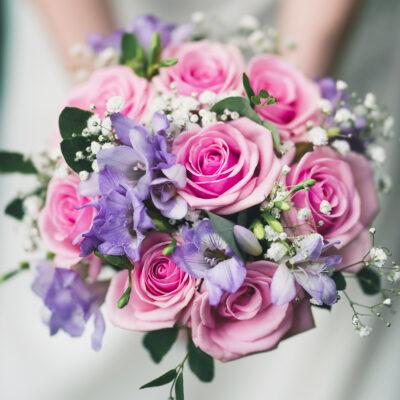 Brudbukett Florist Lysekil