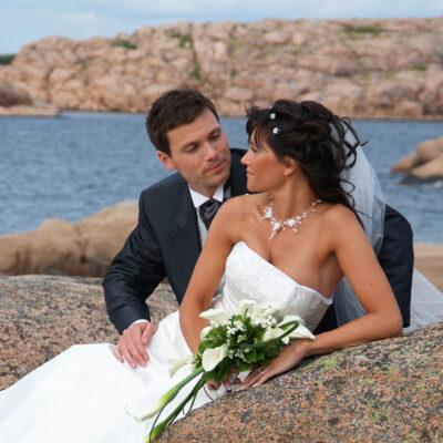 Bröllop Lysekil Lasses Foto Brudpar Hotel Lysekil